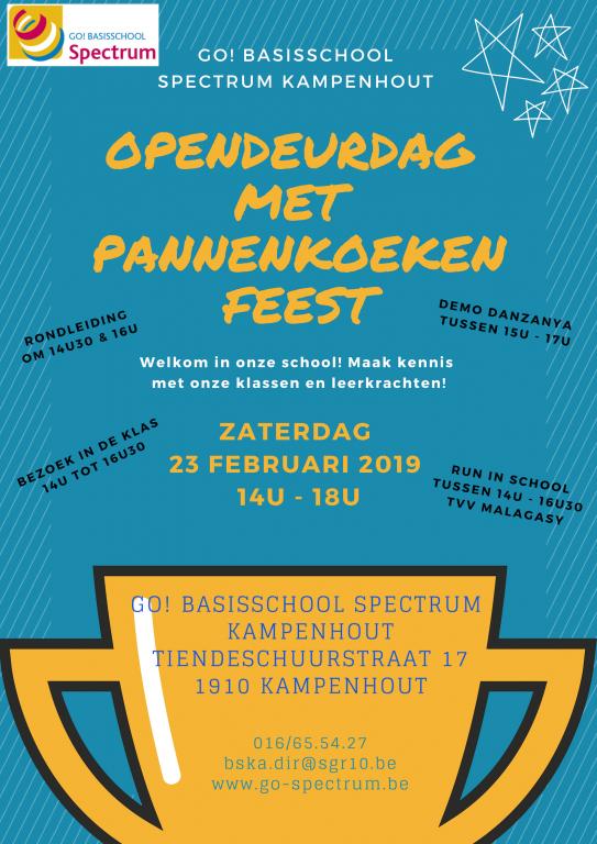 Opendeurdag SPECTRUM Kampenhout versie 3