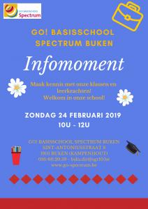 Infomoment in SPECTRUM Buken @ GO! basisschool Spectrum Buken | Kampenhout | Vlaanderen | België