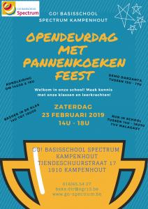 Opendeurdag in SPECTRUM Kampenhout @ GO! basisschool Spectrum Kampenhout | Kampenhout | Vlaanderen | België