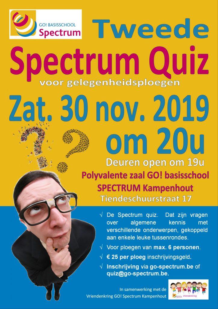 SPECTRUMquiz in SPECTRUM Kampenhout @ GO! basisschool SPECTRUM Kampenhout | Kampenhout | Vlaanderen | België