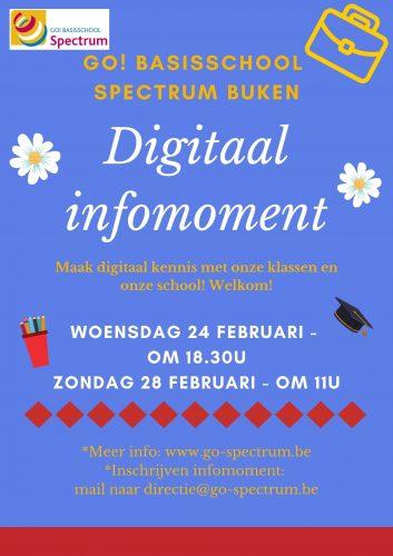 Digitaal infomoment SPECTRUM Buken @ GO! basisschool SPECTRUM Buken | Kampenhout | Vlaanderen | België