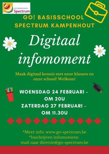 Digitaal infomoment SPECTRUM Kampenhout @ GO! basisschool SPECTRUM Kampenhout | Kampenhout | Vlaanderen | België